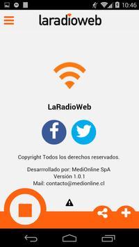 LaRadioWeb apk screenshot