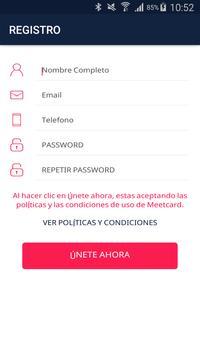 Meetcard screenshot 2