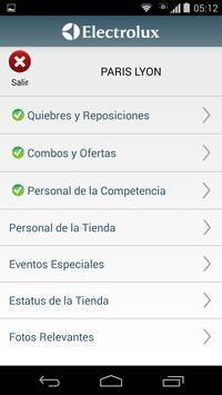 Electrolux PDV App screenshot 3