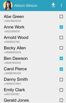 Jumpster: Comparte contactos! apk screenshot