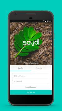 Saydl - on-demand pharmacy | instant consultation poster