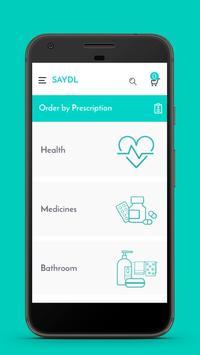 Saydl - on-demand pharmacy | instant consultation screenshot 2
