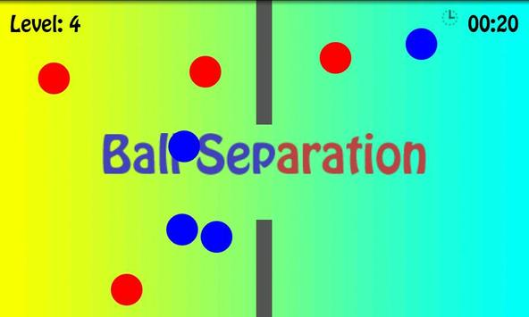 Ball Separation poster