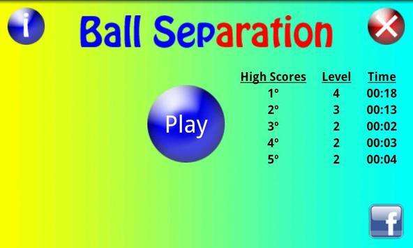 Ball Separation screenshot 1