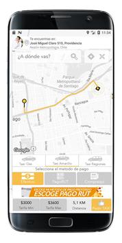 Taxicity Pasajero screenshot 1