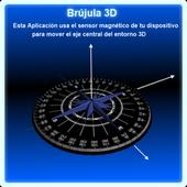 Brújula 3D (sensor magnético) icon