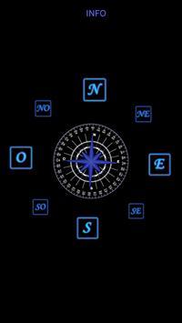 Brújula 3D (sensor magnético) poster