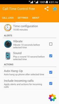 Call Timer apk screenshot