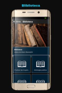 Libros de Mario Benedetti screenshot 1