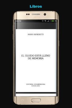 Libros de Mario Benedetti screenshot 2