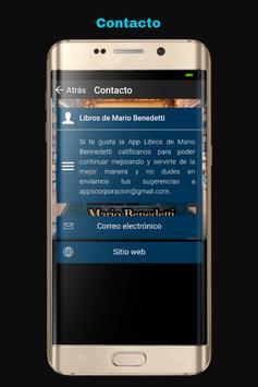 Libros de Mario Benedetti screenshot 7