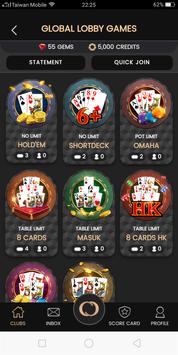Card Club 嘻嘻俱乐部 screenshot 2
