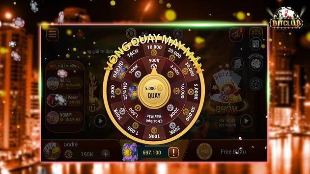 Game bai online, danh bai online Bit Club apk screenshot