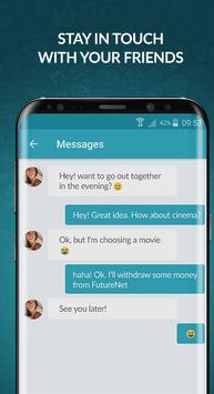 Poster FutureNet your social app