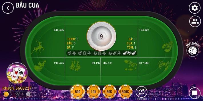 Win.club - Game bai, Danh bai tien len doi thưởng screenshot 2