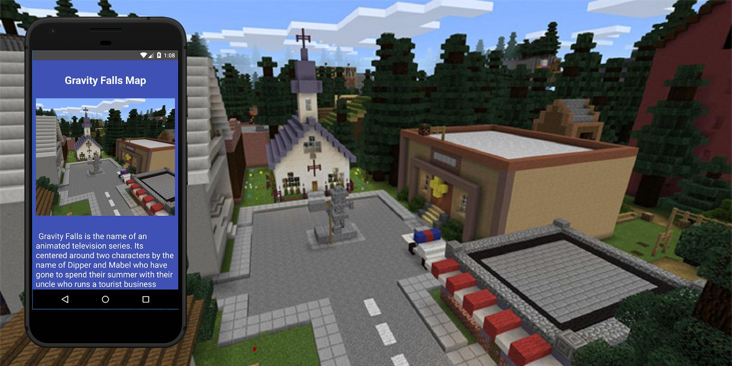 Gravity Falls map for Minecraft PE for Android - APK Download