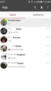 Palz Club Messenger apk screenshot