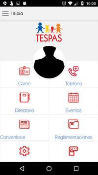 TESPAS apk screenshot