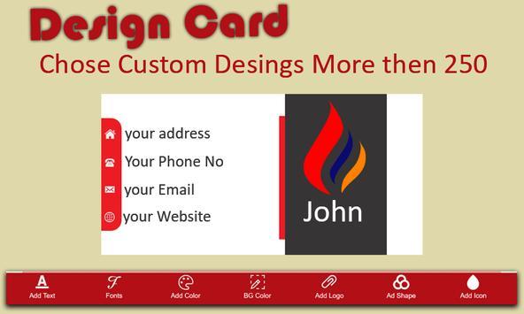 Business Card Maker screenshot 5