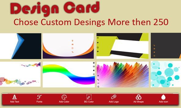 Business Card Maker screenshot 8