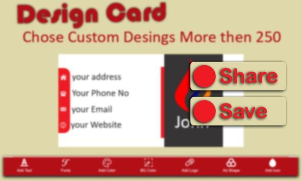 Business Card Maker screenshot 10