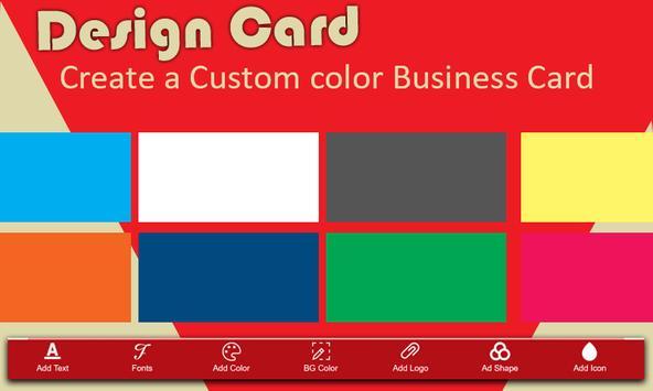 Business Card Maker screenshot 1