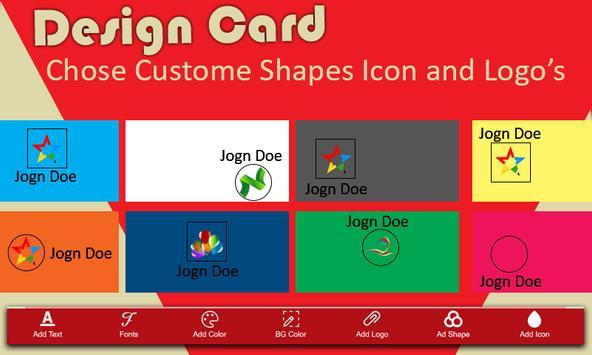 Business Card Maker screenshot 2