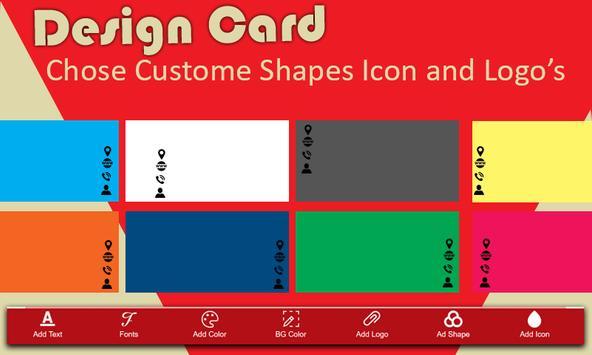 Business Card Maker screenshot 3