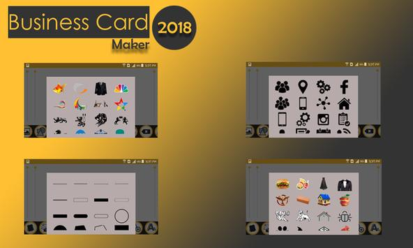 Business card maker for android apk download business card maker screenshot 7 colourmoves