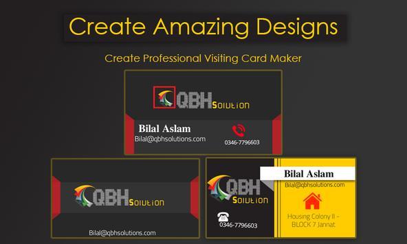 Business card maker para android apk baixar business card maker imagem de tela 10 reheart Images