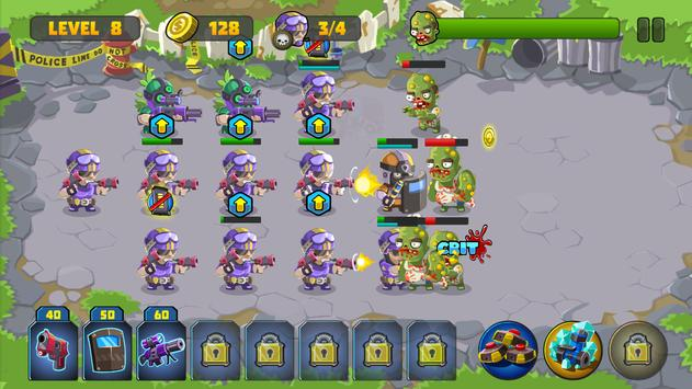 Clash vs Zombies 2 apk screenshot
