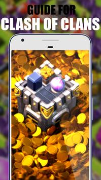 Guide Clash of clans Strategy poster