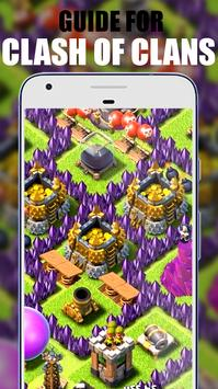 Guide Clash of clans Strategy screenshot 1