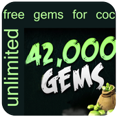 Gems For Clash Of Clasn 100K icon