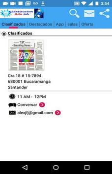 clasificados ads apk screenshot