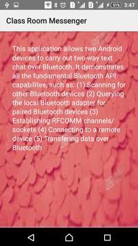 Bluetooth Chat screenshot 3