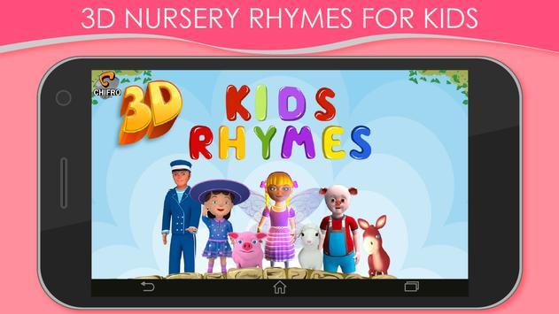 3D Nursery Rhymes for Kids screenshot 8