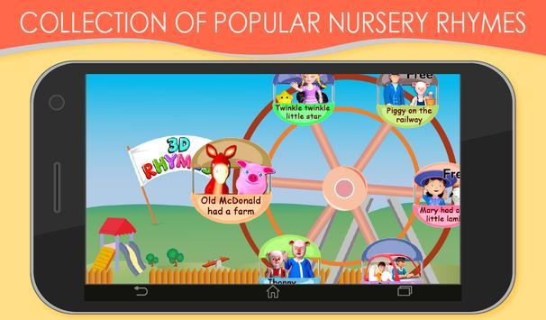 3D Nursery Rhymes for Kids screenshot 17
