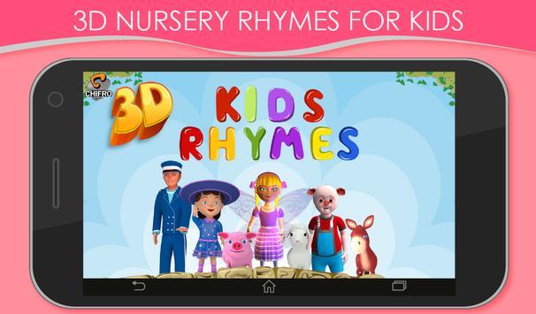 3D Nursery Rhymes for Kids screenshot 16