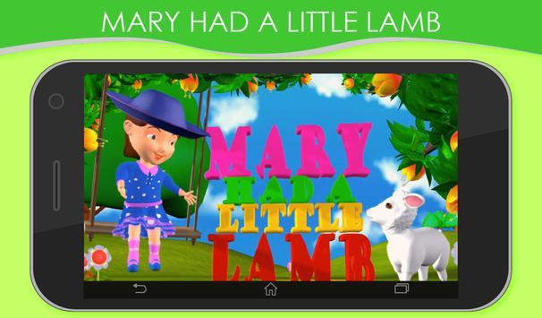 3D Nursery Rhymes for Kids screenshot 19