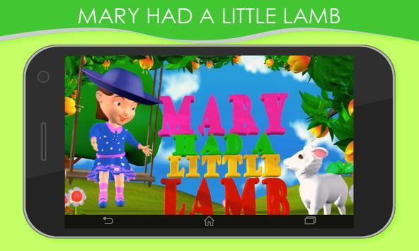 3D Nursery Rhymes for Kids screenshot 3