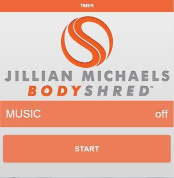 JILLIAN MICHAELS BODYSHRED™ poster