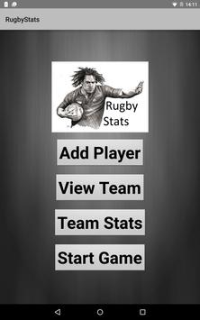 RugbyStats poster