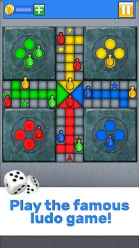 Ludo - Classic game for Kings poster