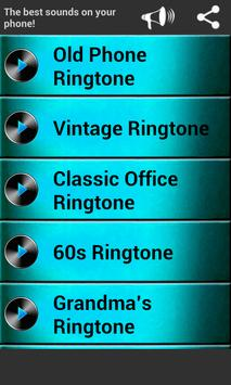 Classic Old Phone Ringtones poster