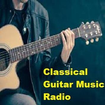 Classical Guitar Music Radio poster