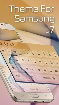 Keyboard Theme for samsung J7 poster