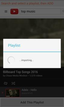 Tube Playlist Classic apk screenshot