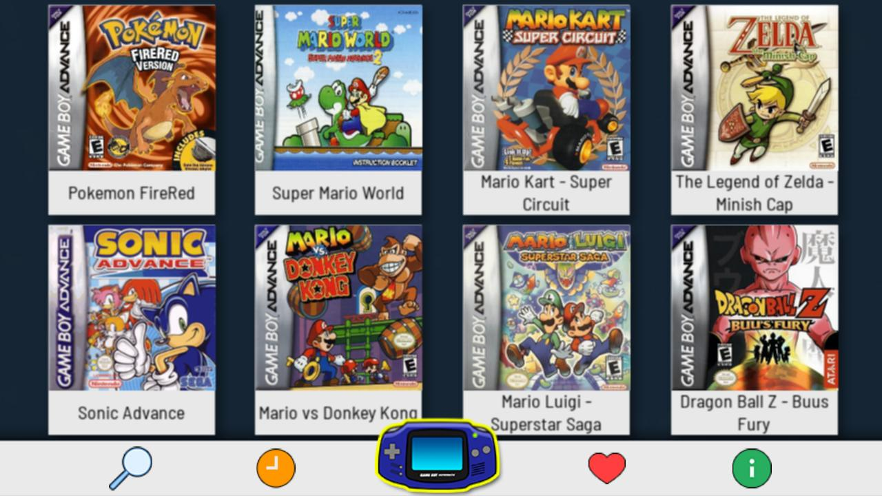 Emulator For GBA - Free and Full Classic Games for Android - APK Download