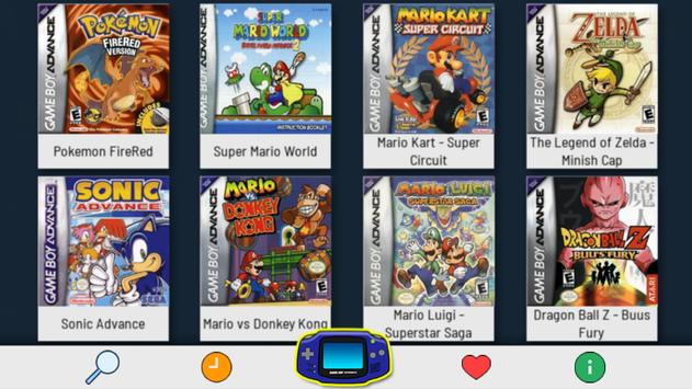free games for gba emulator android